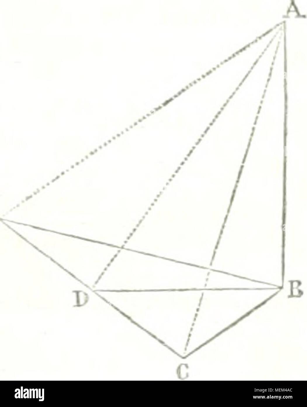 """. Dictionnaire des sciences mathématiques pures et appliquées . AB=: /( 0 cot 2a -}- </ cot ibâ D cot ne) ' dans laquelle on a D=EC, f/ = CD,, il-^, d-^, d*, d"""", d-"""", lie à sa base et à son sommet, et de retrancher le logaiilhme de la seconde hauteur observée de celui de la pre- mière. INIais CCS logarithmes ne sont pas ceux qu'on douve dans les tables; et il faut les y ramener poui ren- dre les calculs praticables. Or, pour passer d'ud sys- tème quelconque de logarithme à celui des tables, il faut déterminer son module {T'oy. Module), et Diiiiti- plier chaque logarithme pa Stock Photo"""