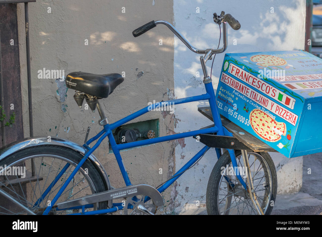 Pizza Delivery Bike Stock Photos Amp Pizza Delivery Bike