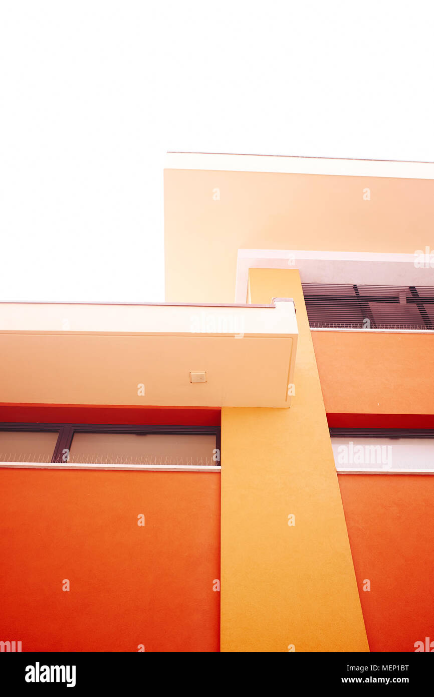Modern architectural detail - Stock Image