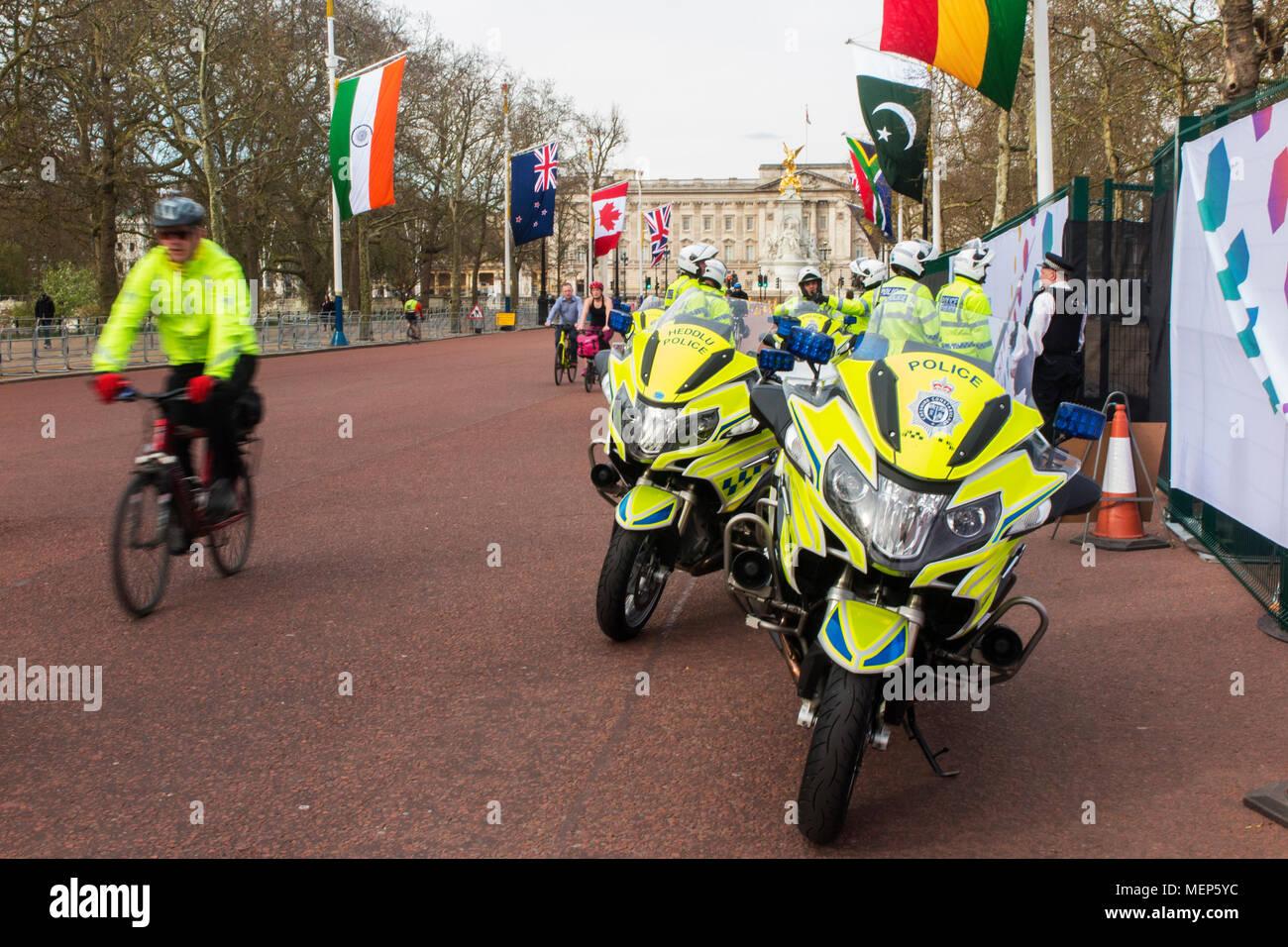 Police Pedal Bike Bicycle Stock Photos & Police Pedal Bike