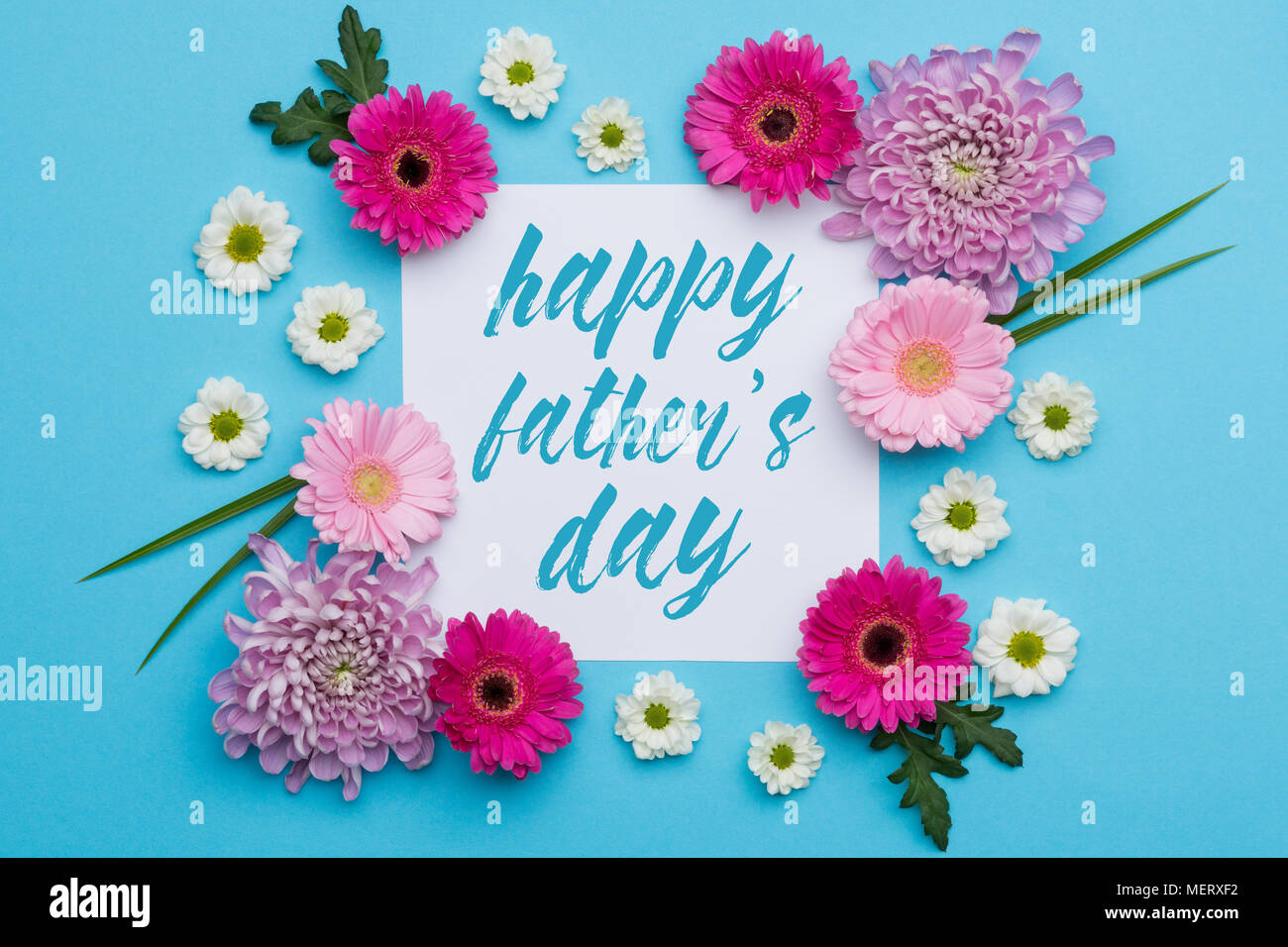 Happy fathers day pastel candy colours background floral father happy fathers day pastel candy colours background floral father day flat lay minimalism geometric patterns father day greeting card m4hsunfo