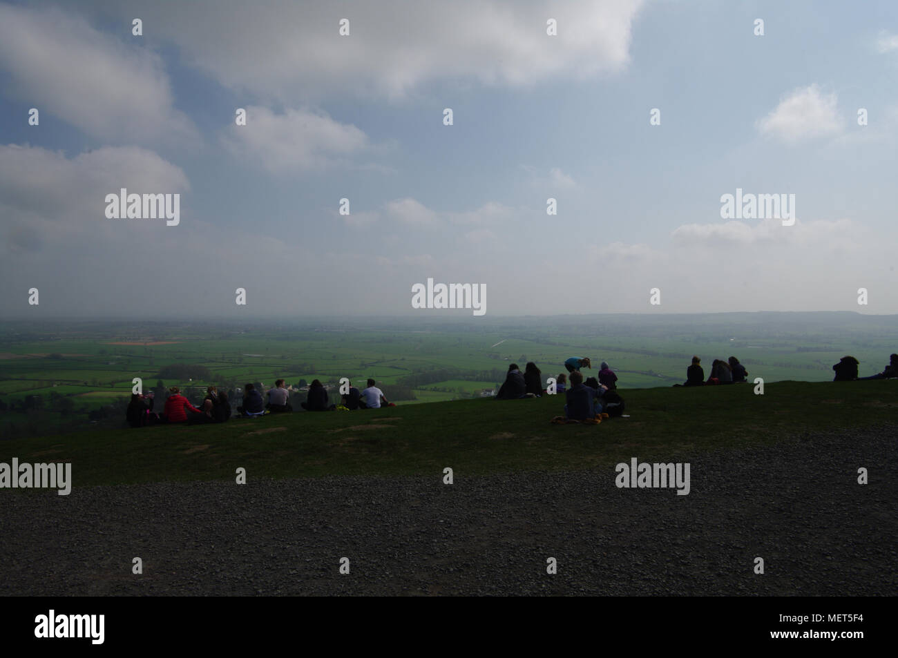 Glastonbury, England - Stock Image