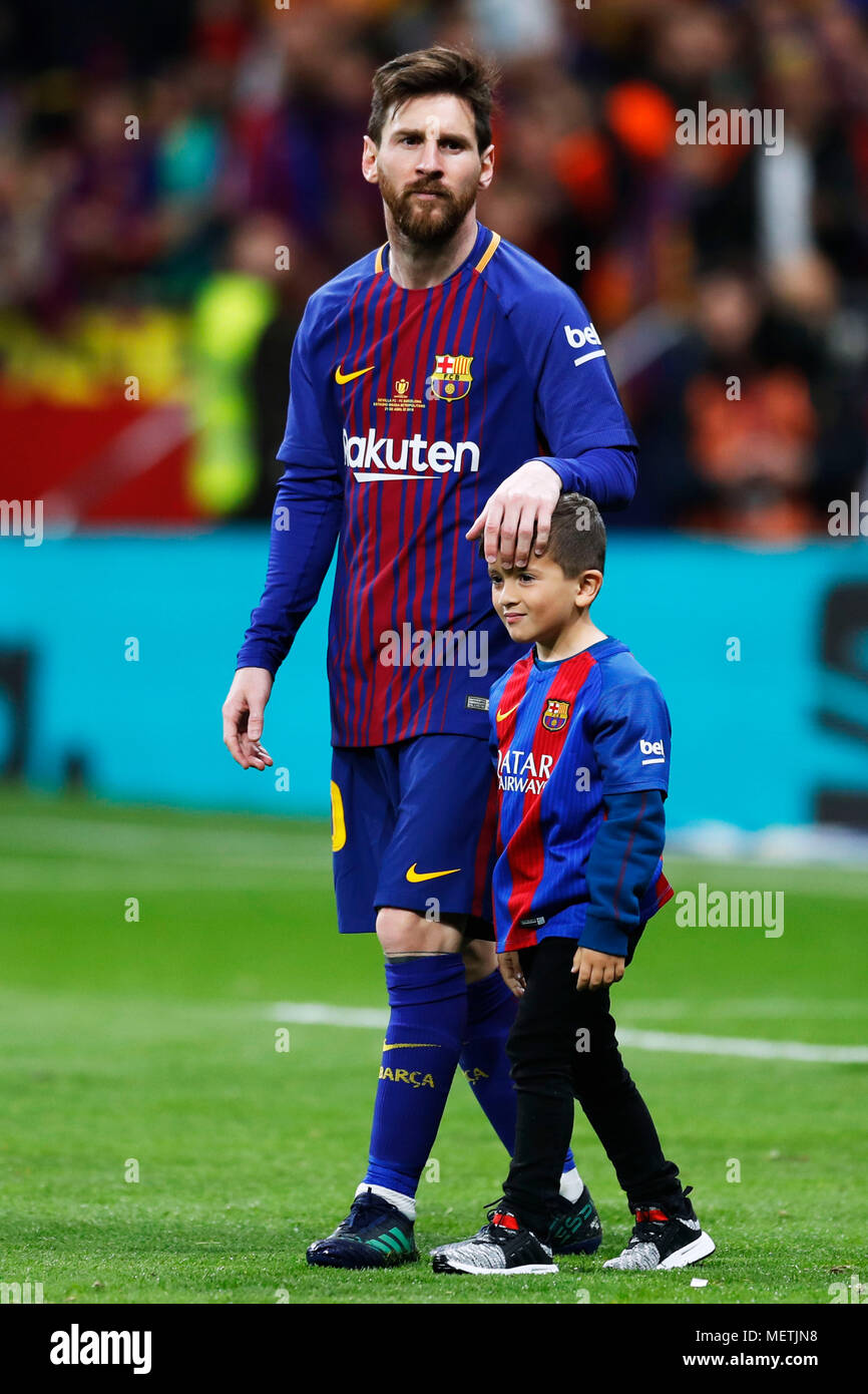 You tell. Lionel messi son thank for