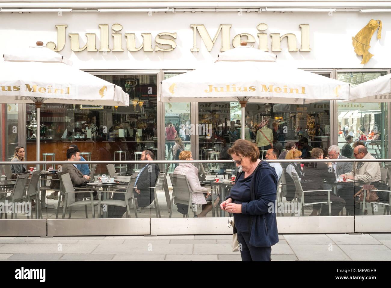 Julius Meinl Shop And Wustenrot Company Building Graben
