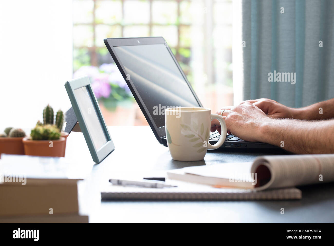 nice and comfy office environment - Stock Image