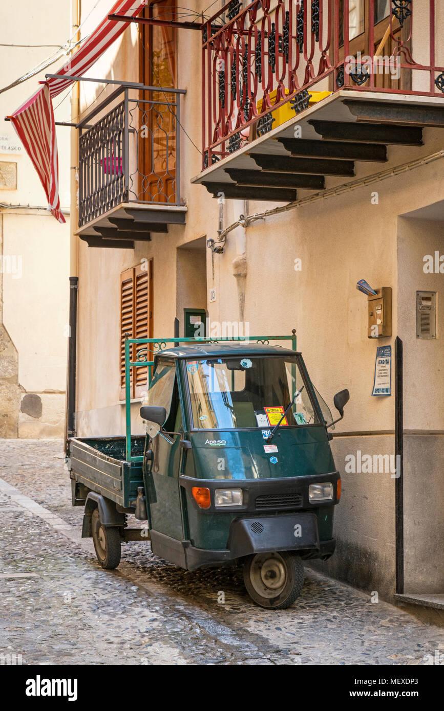 italian three wheeler stock photos italian three wheeler. Black Bedroom Furniture Sets. Home Design Ideas