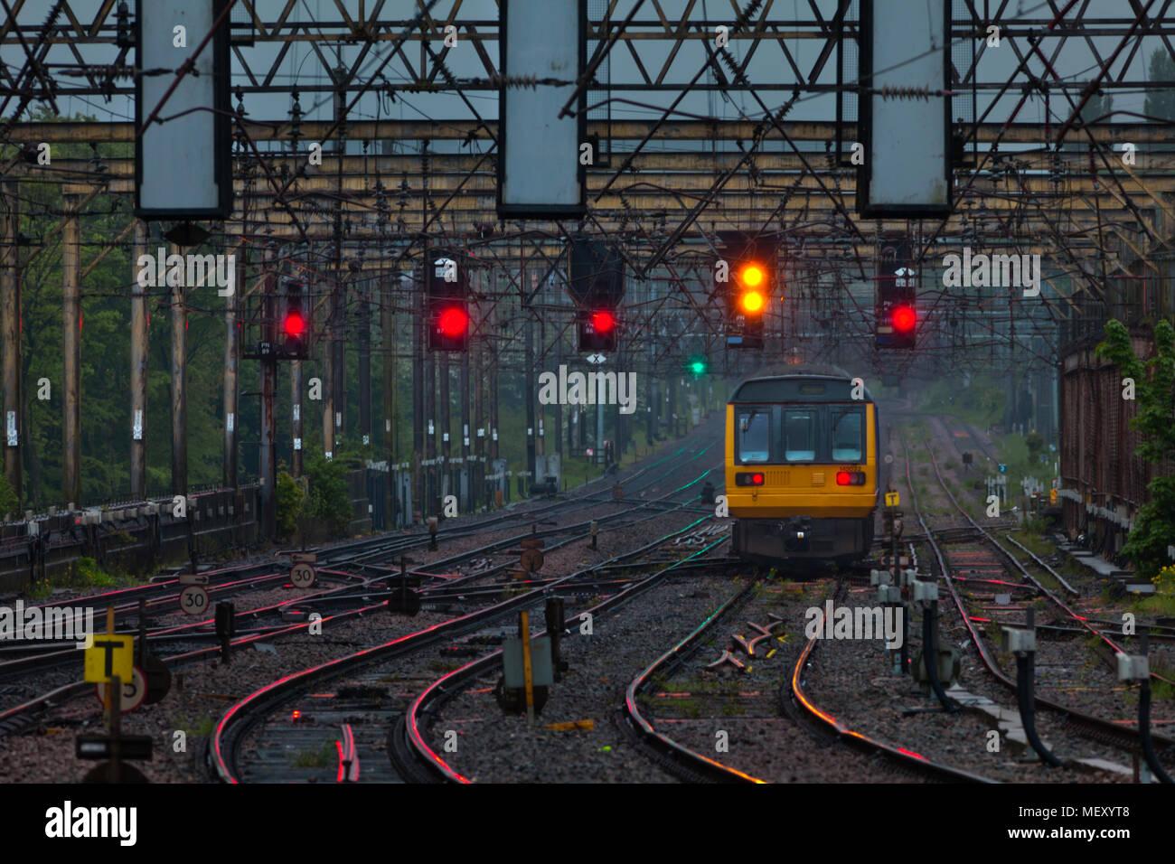 Colour Light Signalling Stock Photos & Colour Light Signalling Stock ...