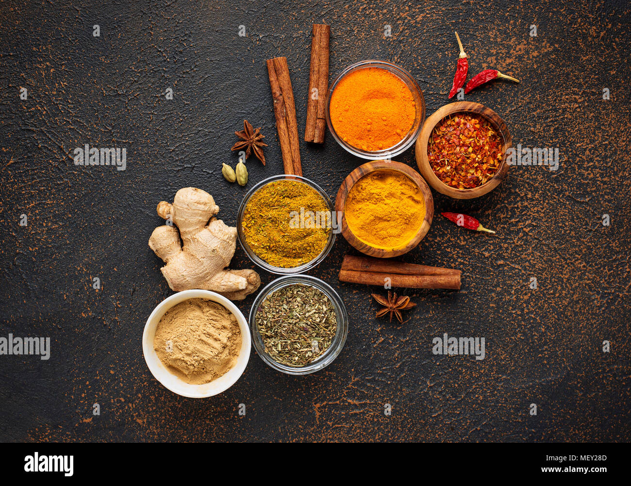 Indian Spices Stock Photos & Indian Spices Stock Images - Alamy