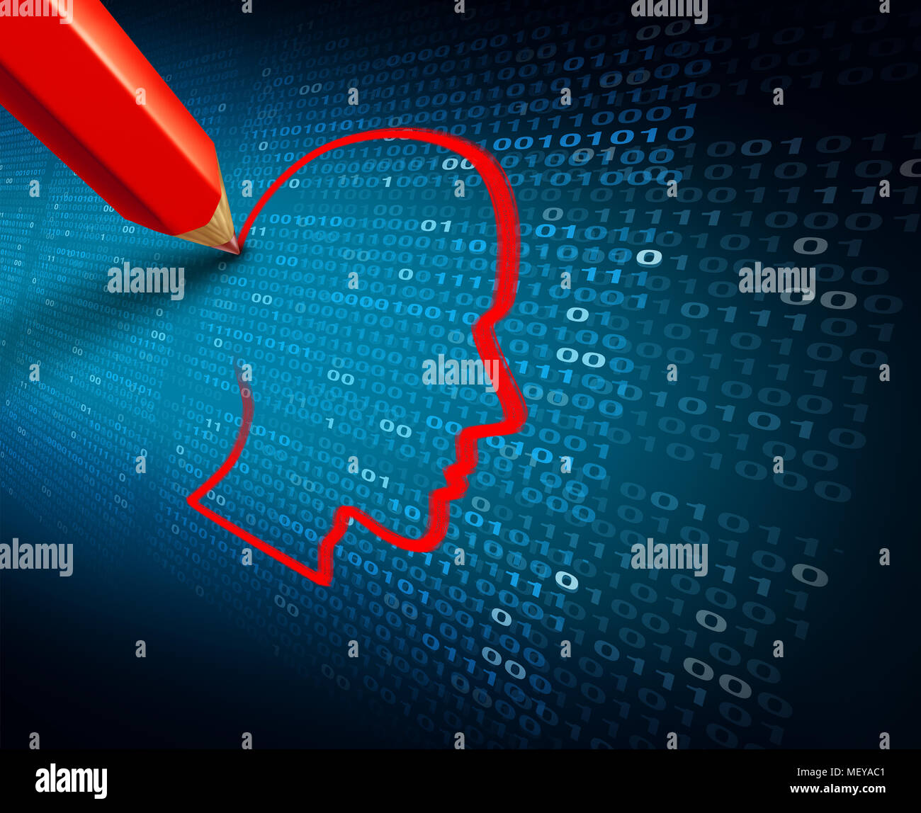Phishing and private data hack and stealing personal information as a as a cybercrime or cyber crime social media security concept. - Stock Image