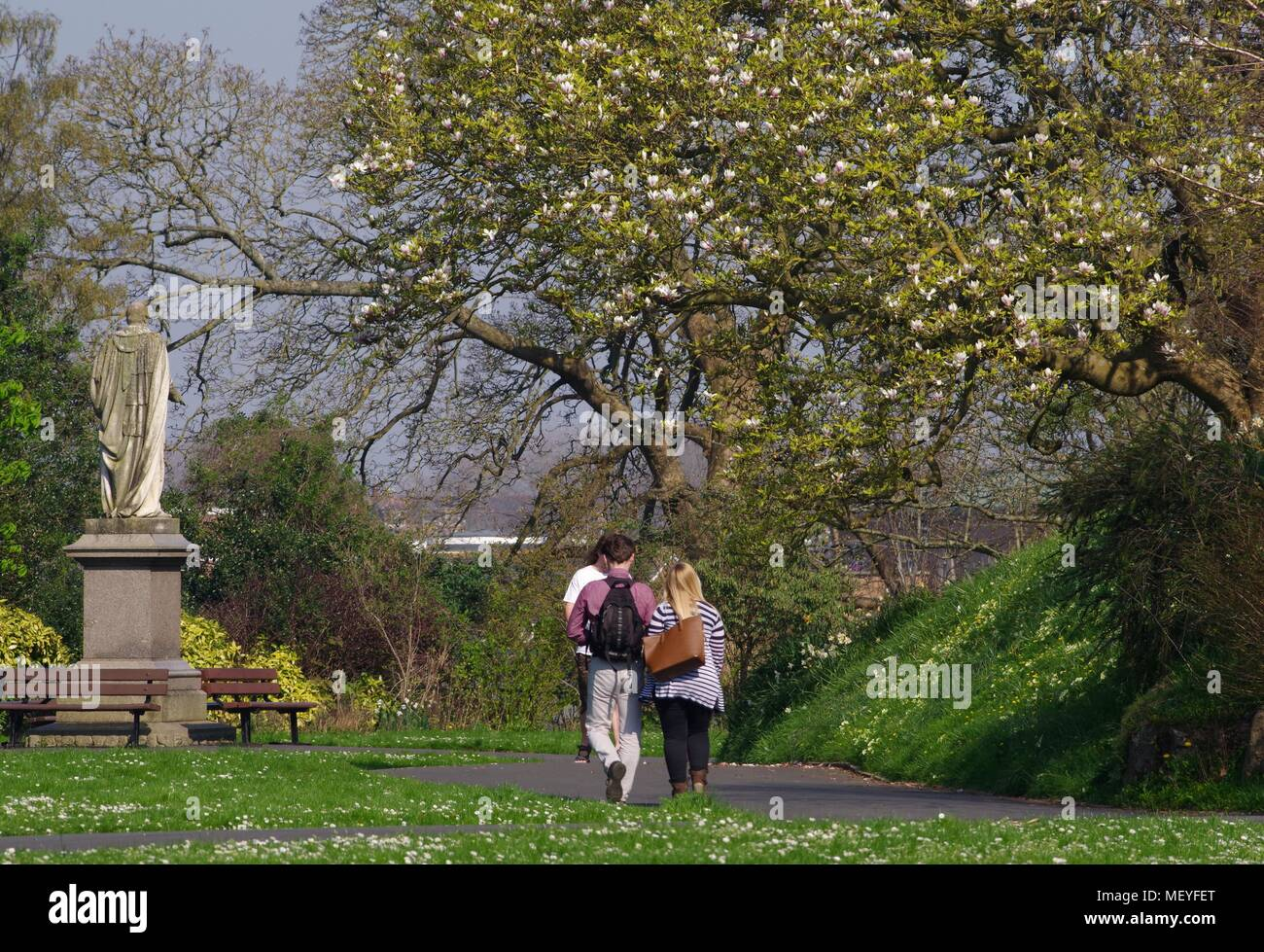 Northernhay Park Stock Photos & Northernhay Park Stock Images - Alamy