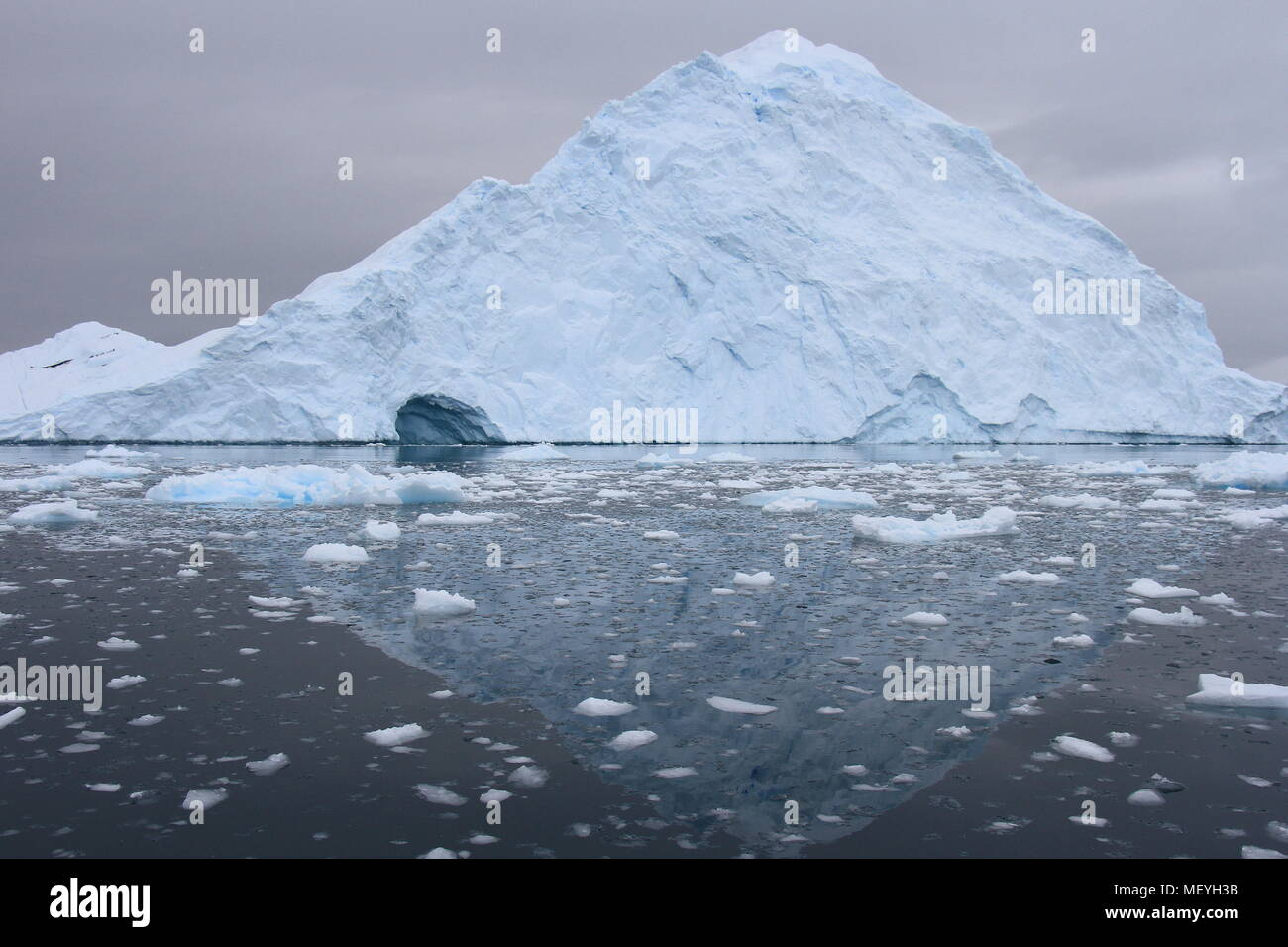 Antarctic ice - Stock Image