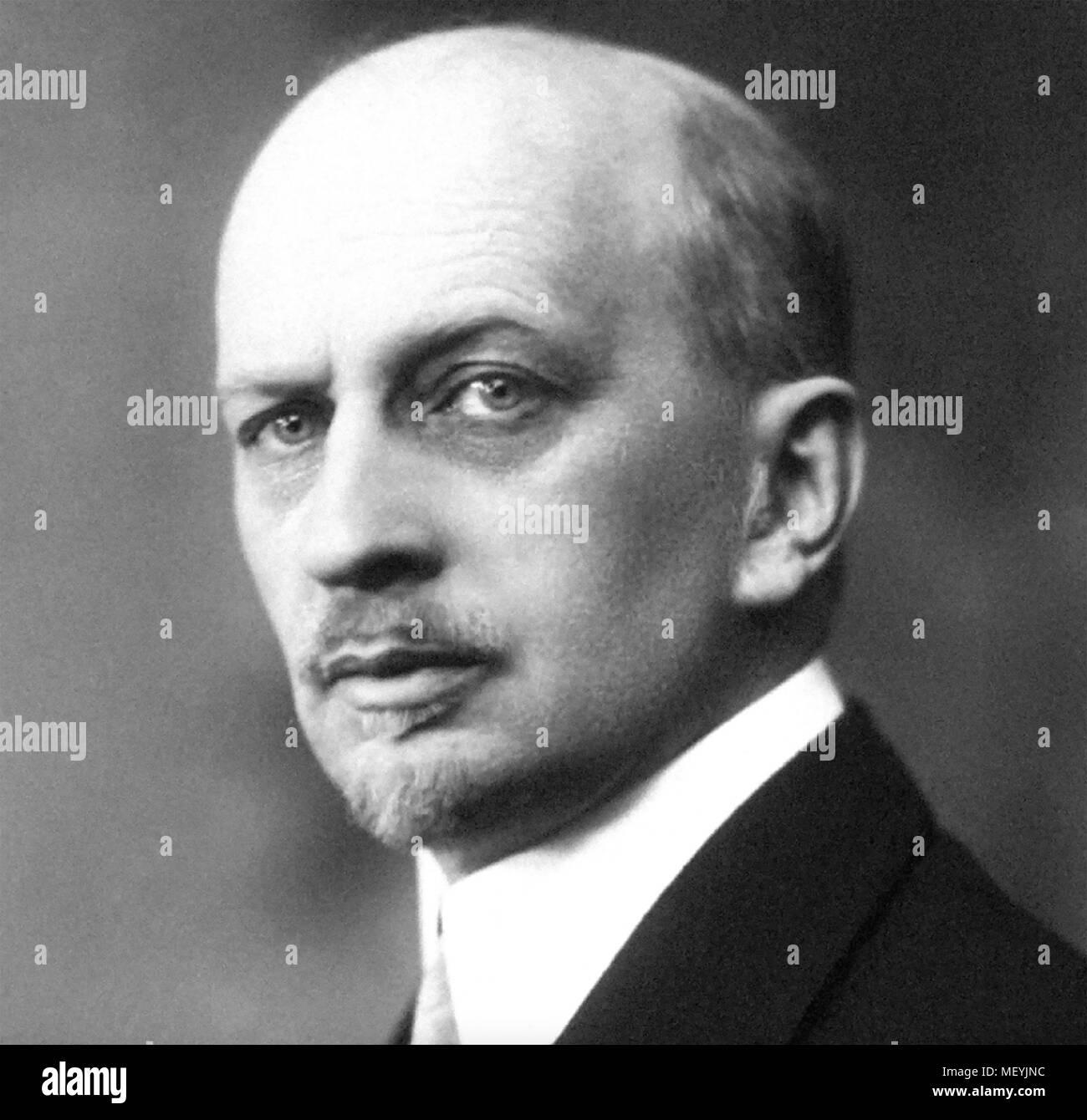 IVAN ILYIN (1883-1954) Russian political and religious philosopher - Stock Image