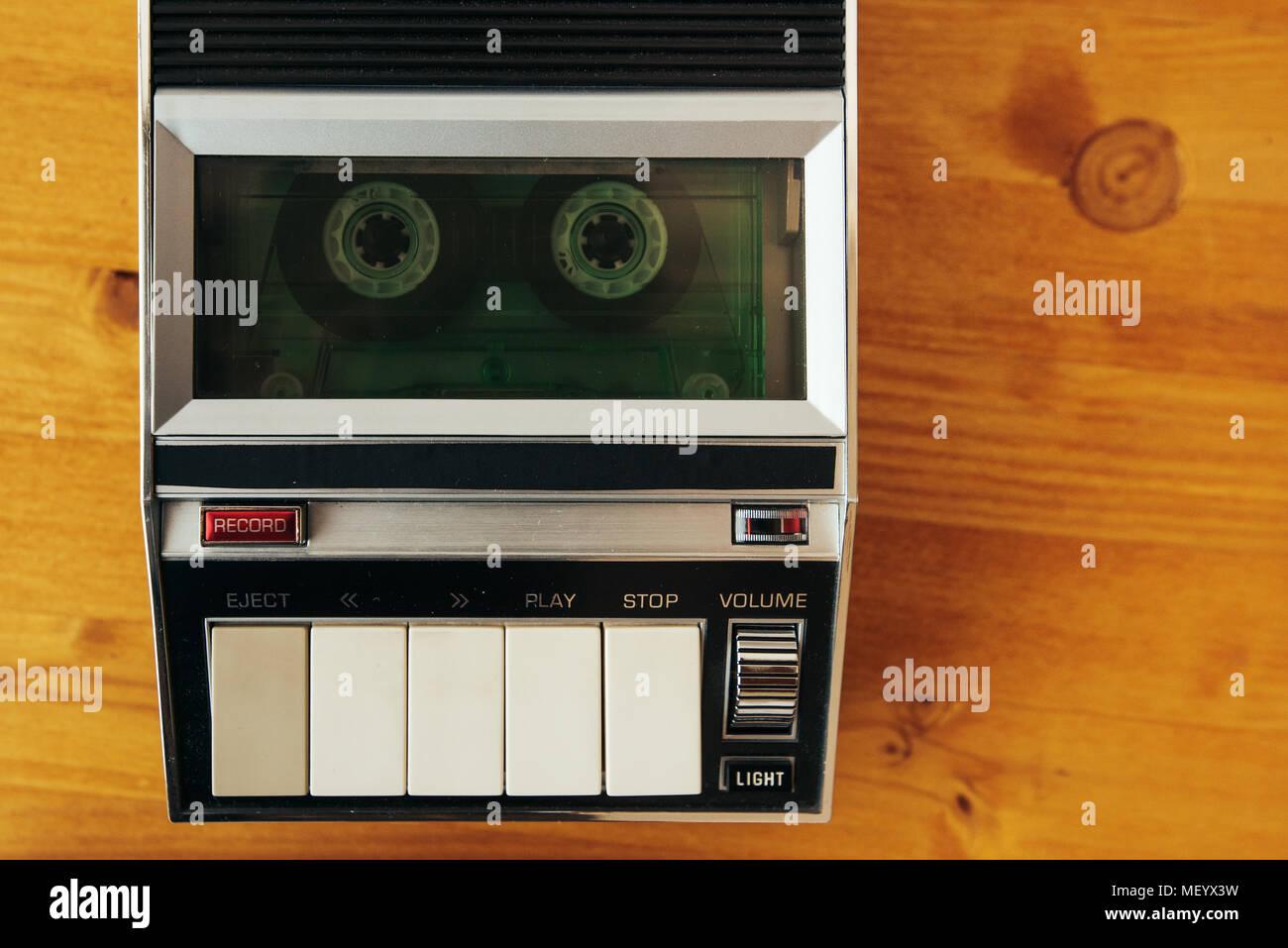 Tape Recorder 1970s Stock Photos & Tape Recorder 1970s Stock