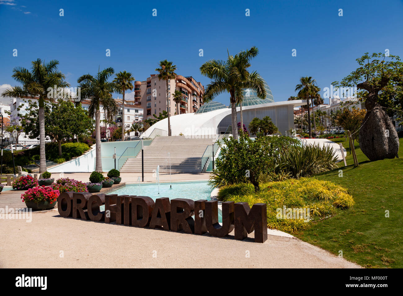 The Orchidarium, Estepona, Malaga, Spain - Stock Image