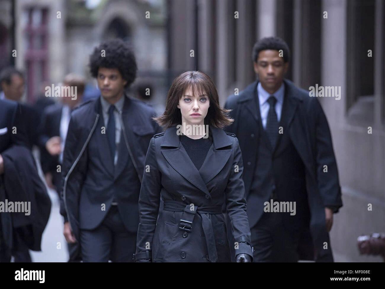 ANON 2018 Netflix film with Amanda Seyfried - Stock Image