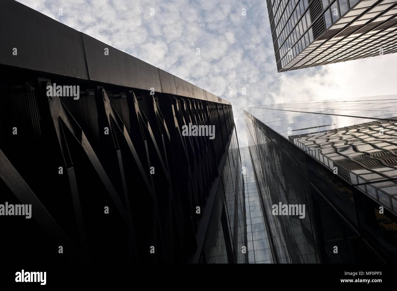 London's ever growing list of sky scrapers - Stock Image