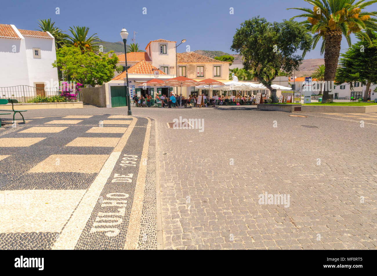 Porto Santo Island - Portugal Stock Photo