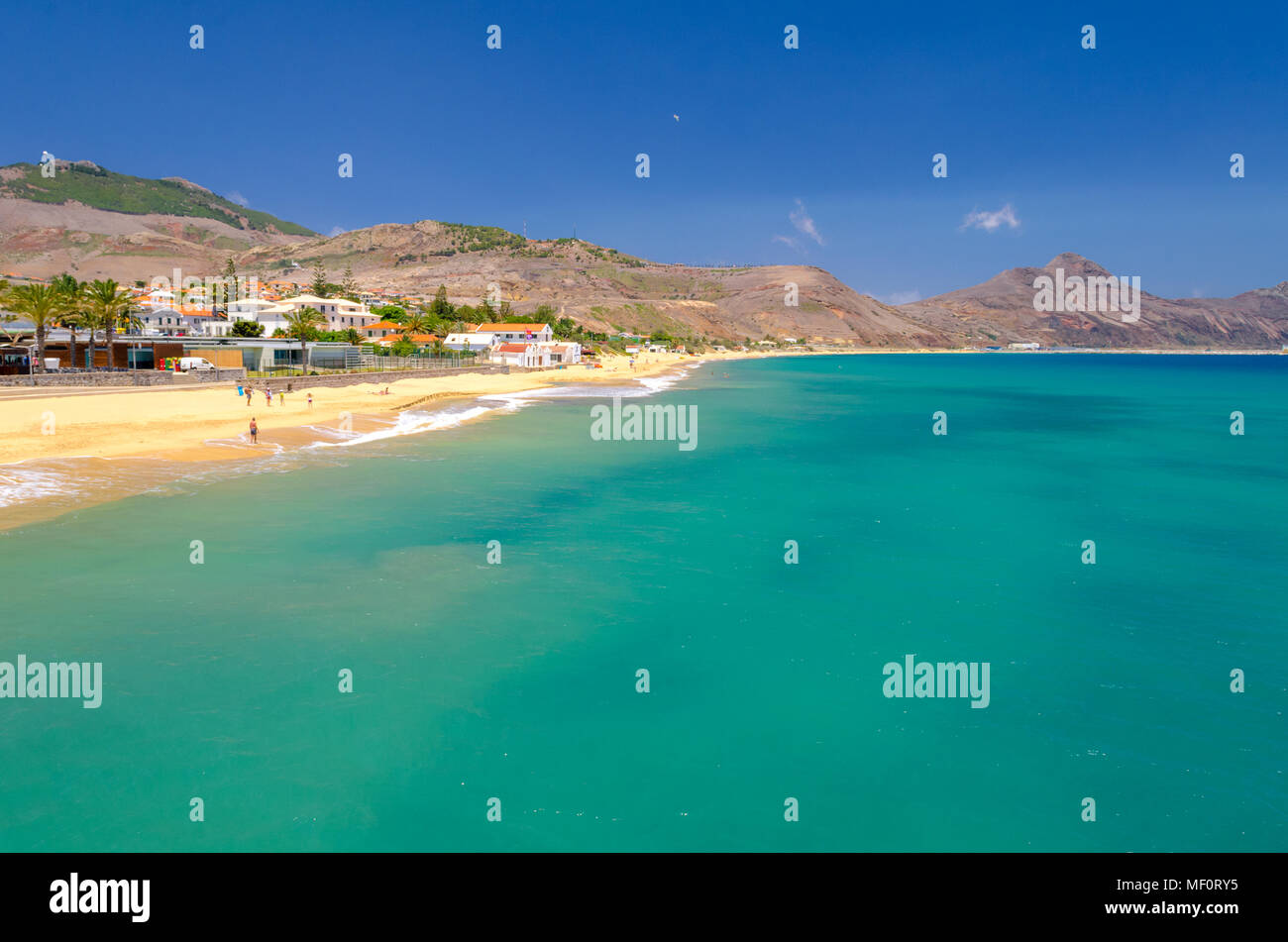 Porto Santo beachStock Photo