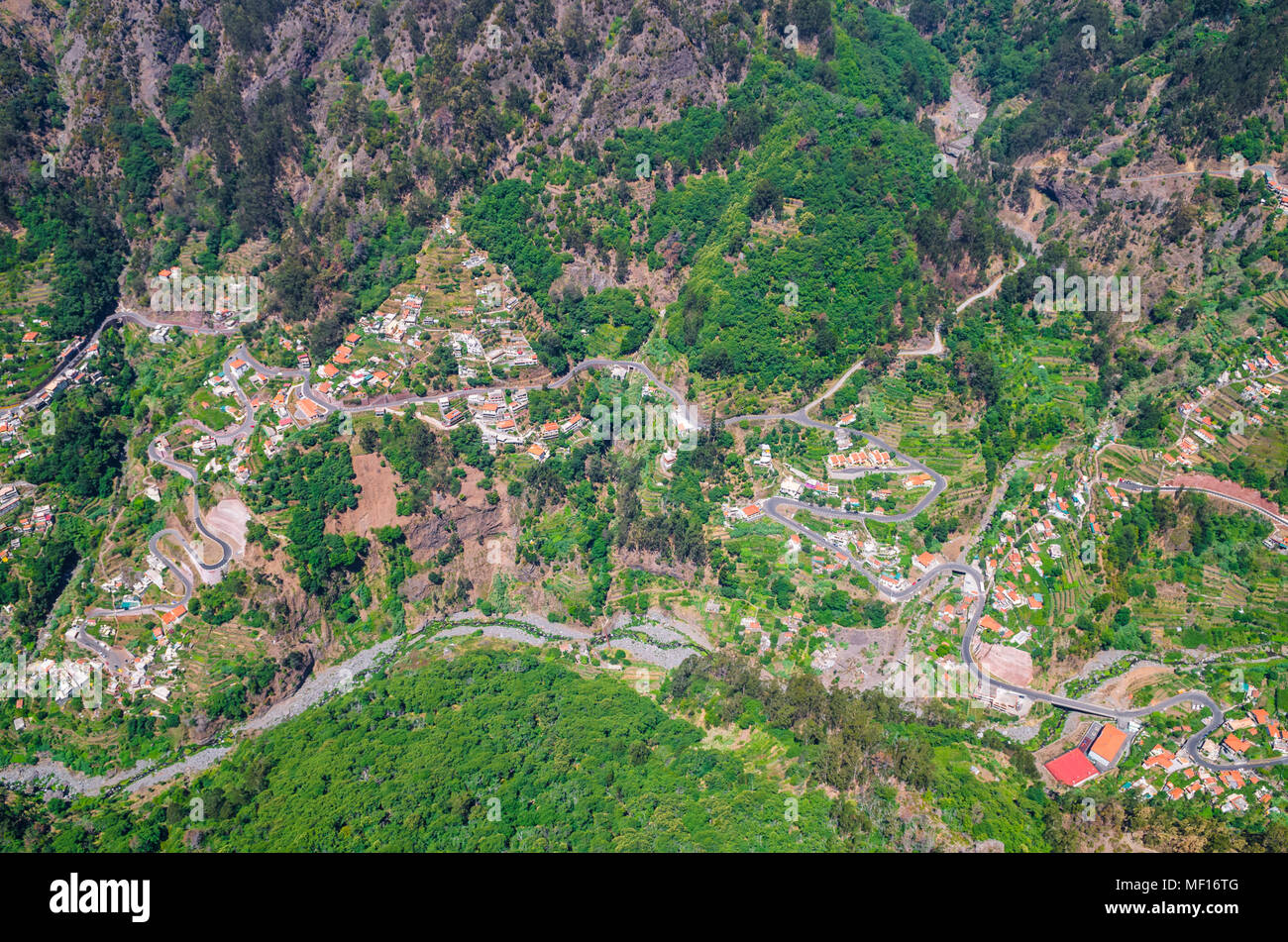 Curral das Freiras on Madeira Island, PortugalStock Photo