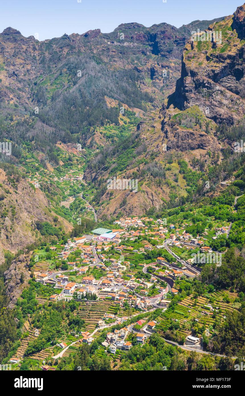 Curral das Freiras on Madeira Island, PortugalStock Photo