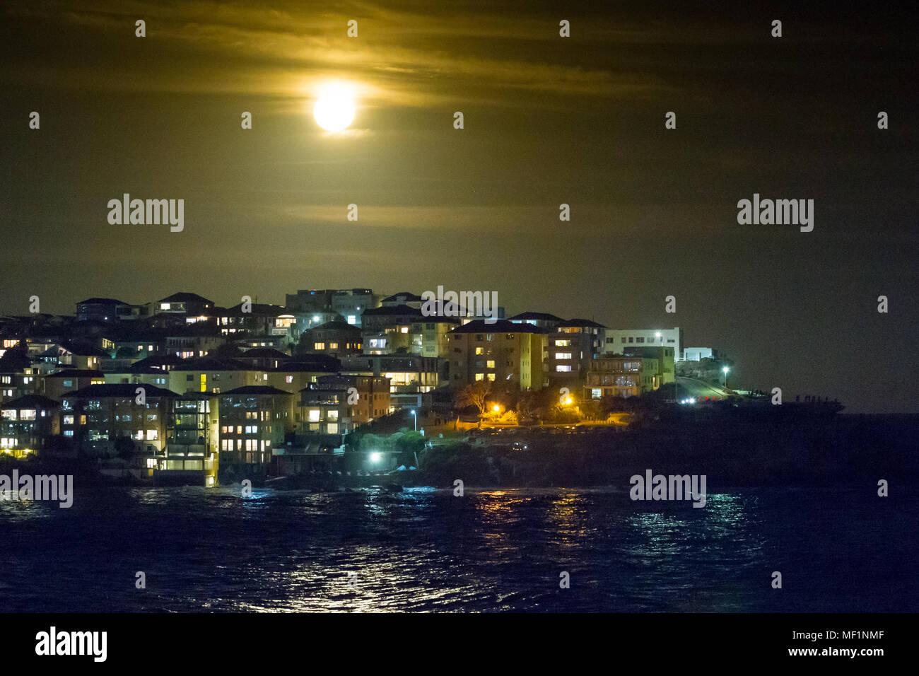 Next full moon date in Sydney