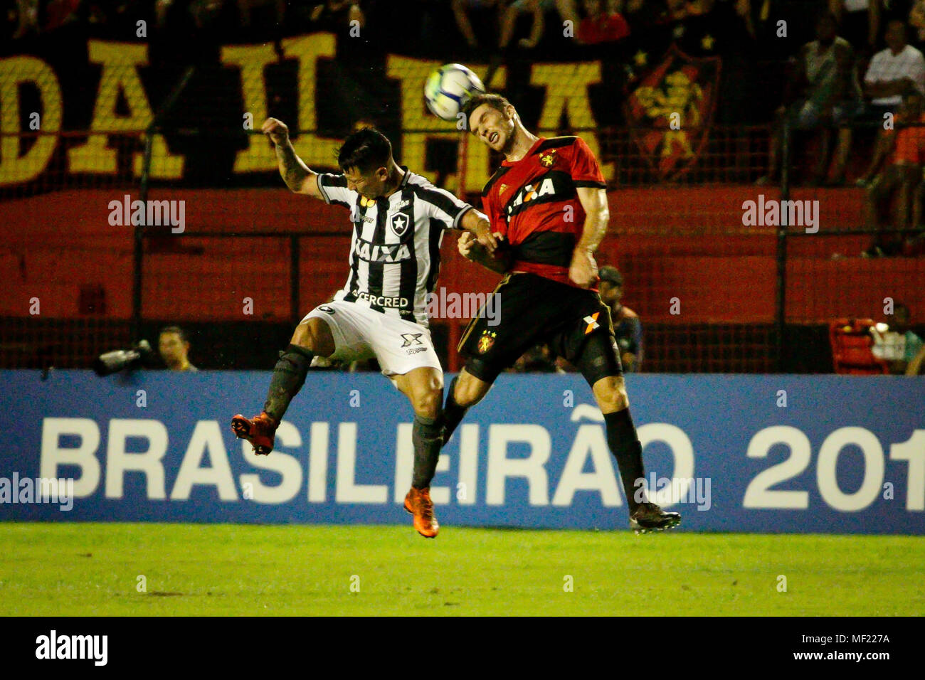 Recife Brazil 23rd Apr 2018 Game During Sport X Botafogo Held On Monday 23 A Match Valid For The Second Round Of The Brazilian Championship Series A 2018 Held At The Estadio