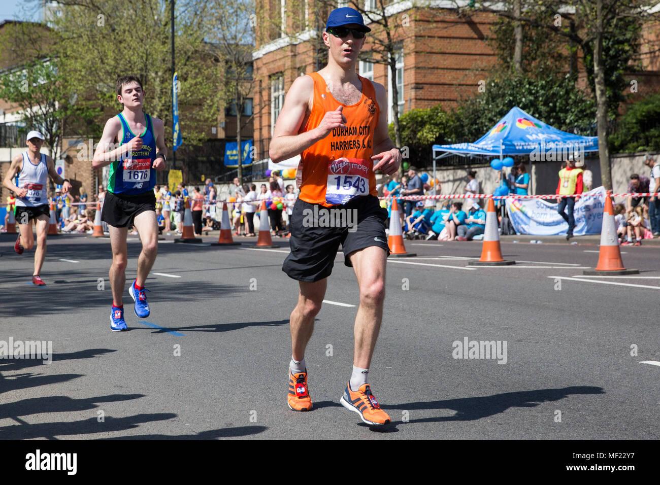 London Uk 22nd April 2018 Matthew Hornsby Of Durham City