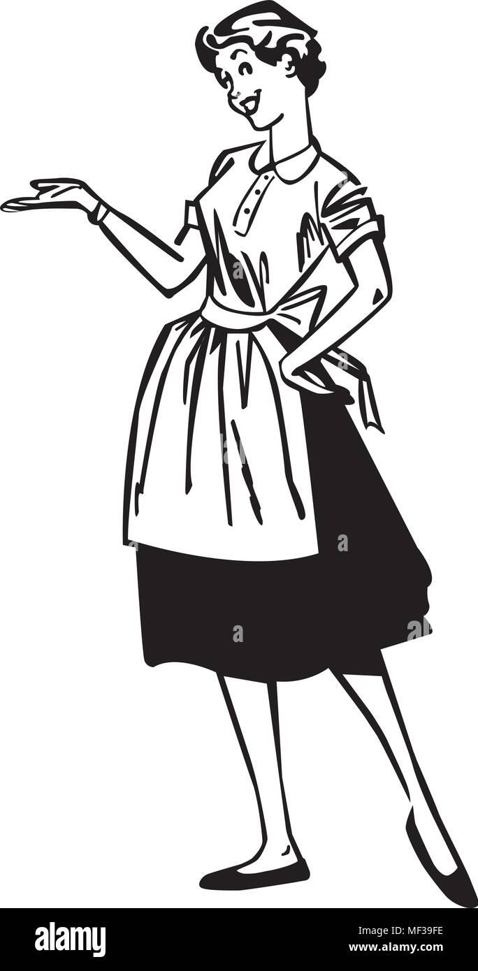 Retro Housewife Illustration Stock Photos & Retro ...