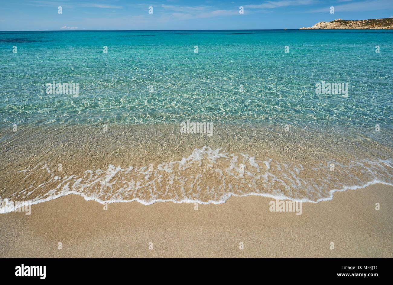 Italy, Sardinia, Rena Majori - Stock Image
