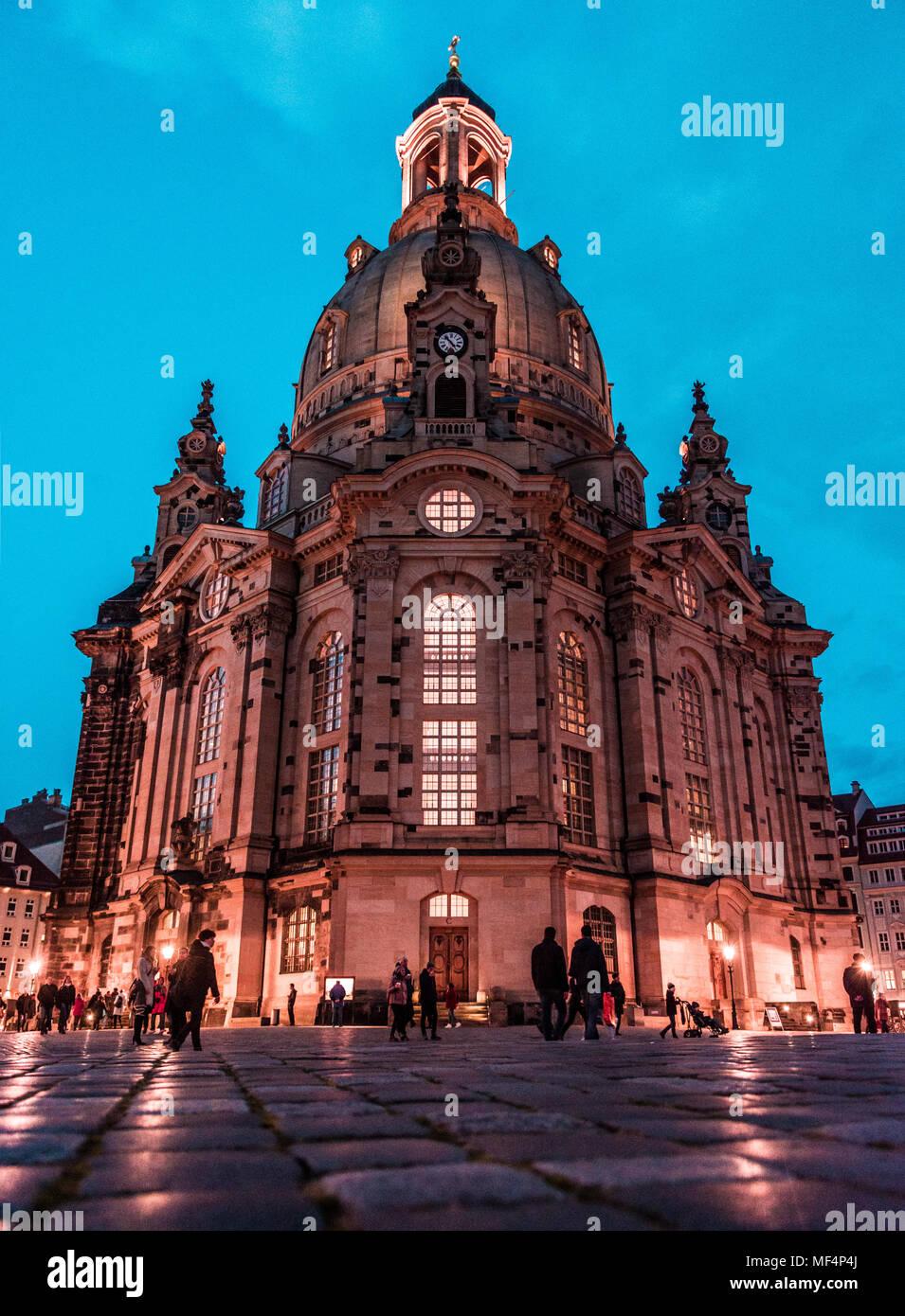 Frauenkirche, Dresden (germany) Stock Photo