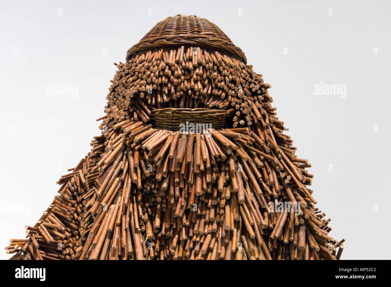 Nick Cave, Soundsuit NCC11.002, 2011, sculptural costume / sculpture - Stock Image