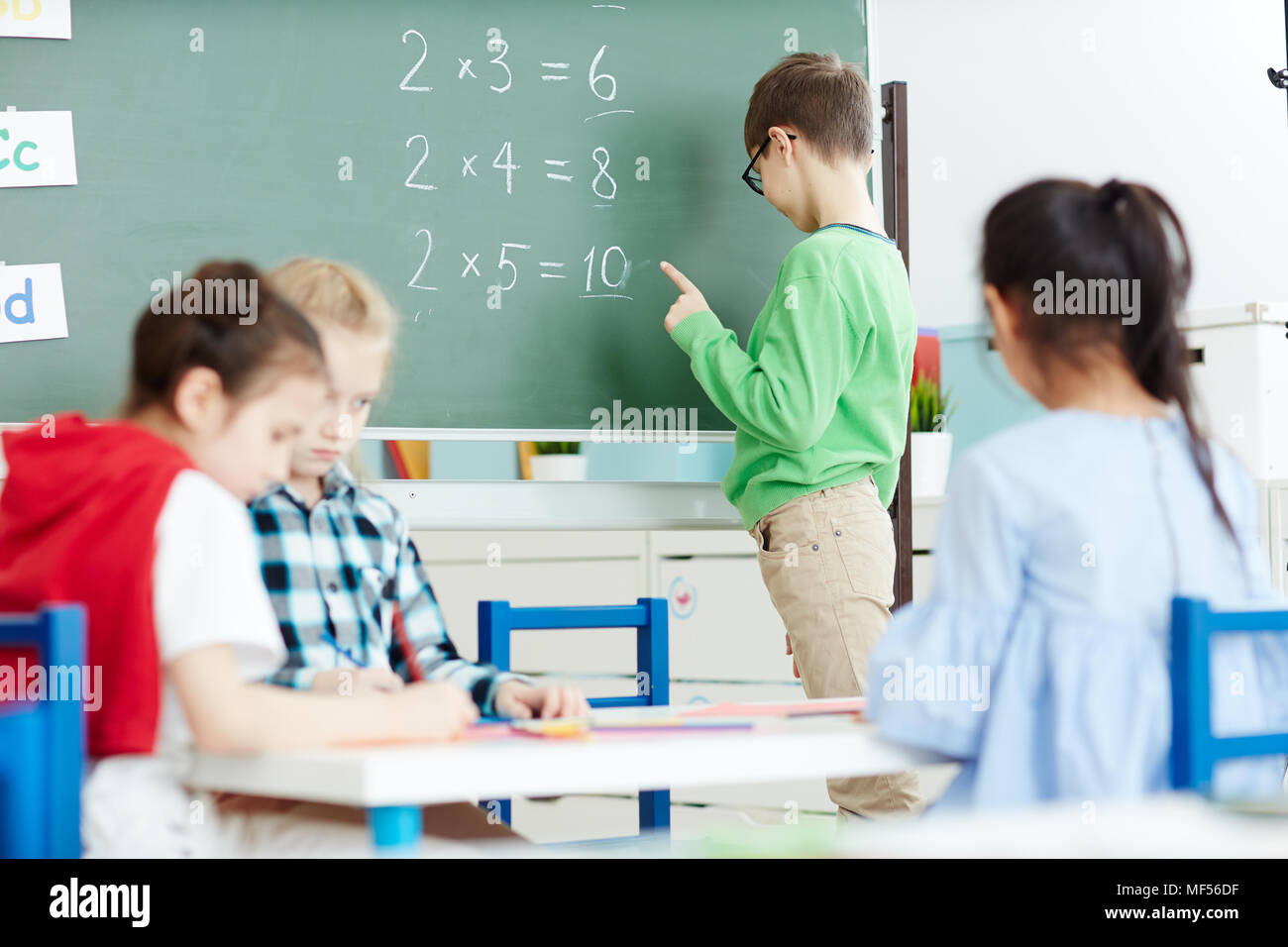 Blackboard Sums Stock Photos & Blackboard Sums Stock Images - Alamy