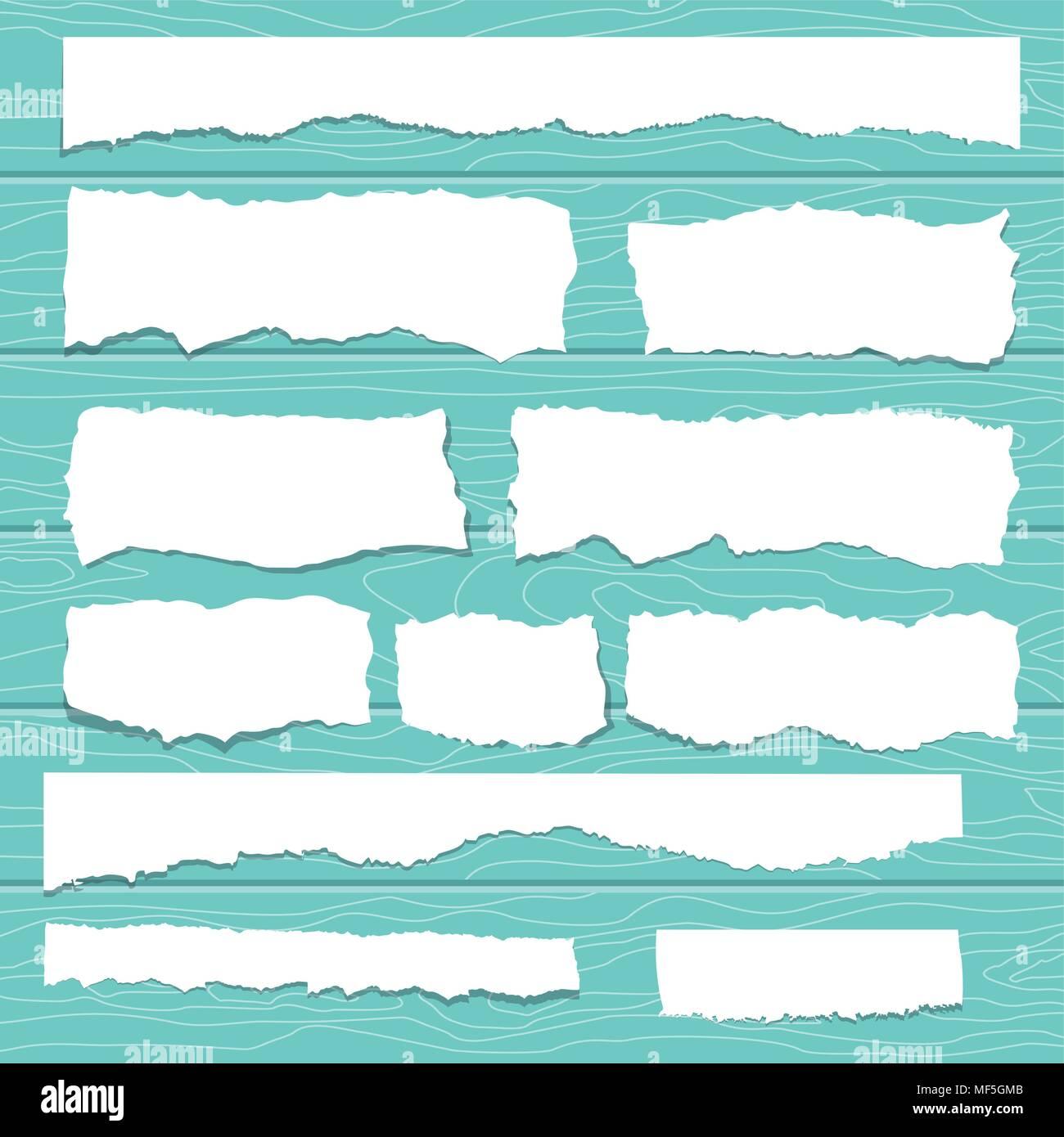 scrap paper - Stock Vector