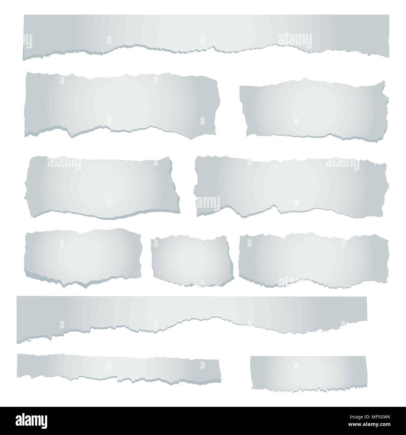scrap paper concept - Stock Vector