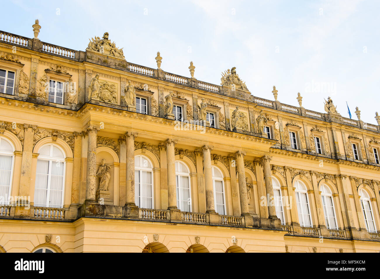 Herrenchiemsee Palace , one of the most famous castles and the largest of King Ludwig II. - Stock Image
