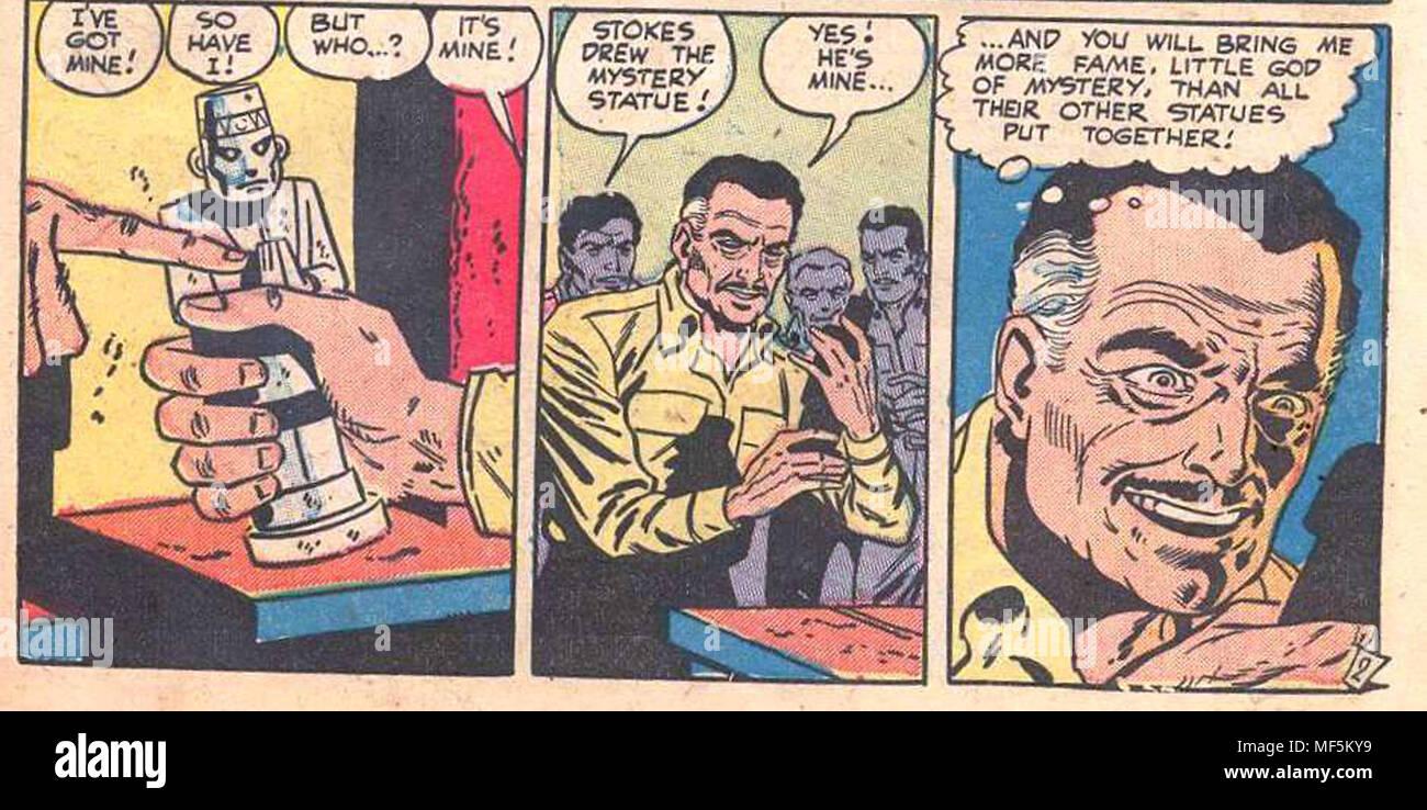 WEIRD MYSTERIES T-shirt 50/'s comic book vintage