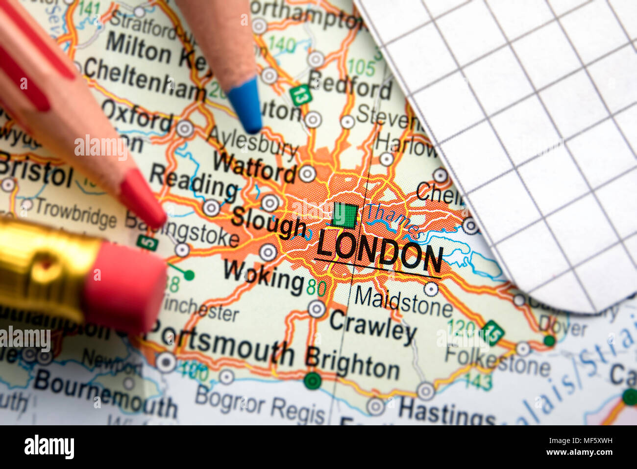 London Center Map.London City Of Great Britain In The Center Of The Geographic Map