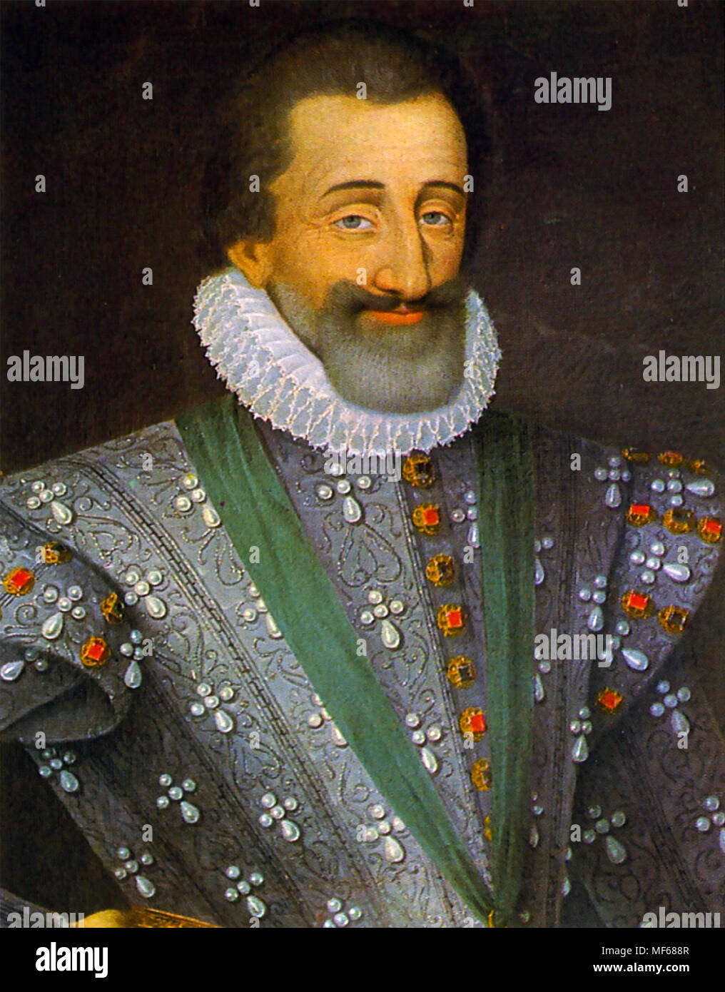 HENRY IV OF FRANCE (1553-1610) - Stock Image