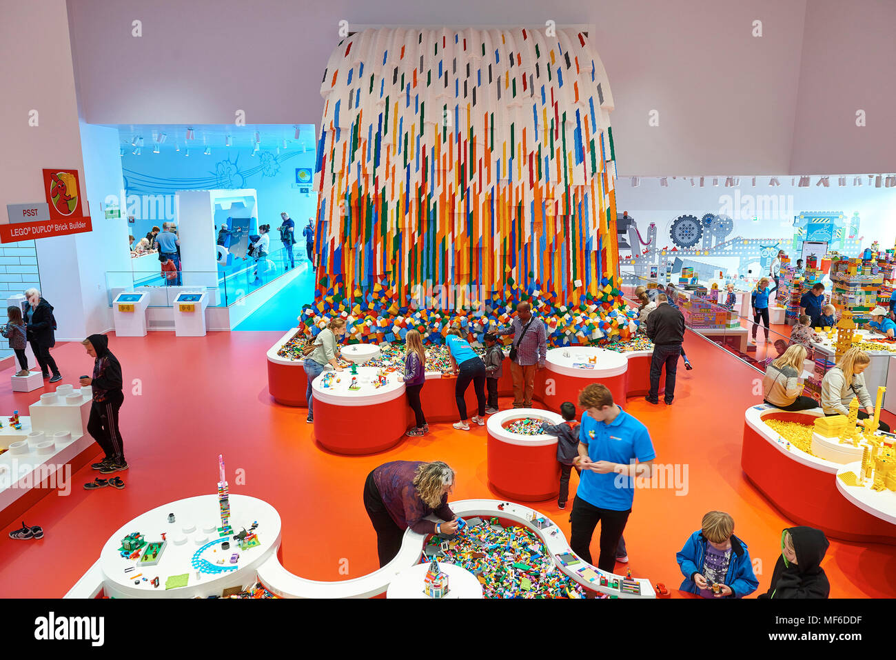 Lego House Billund Denmark Stock Photo 181465803 Alamy