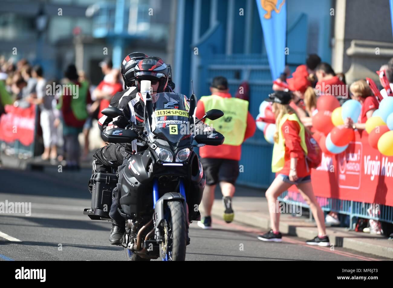 London Marathon Stock Photo