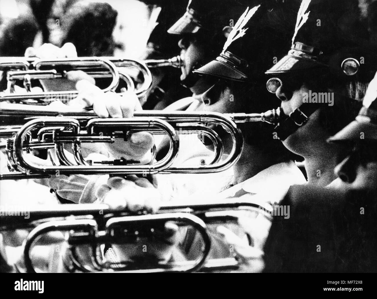 musical band, new york, 70s - Stock Image