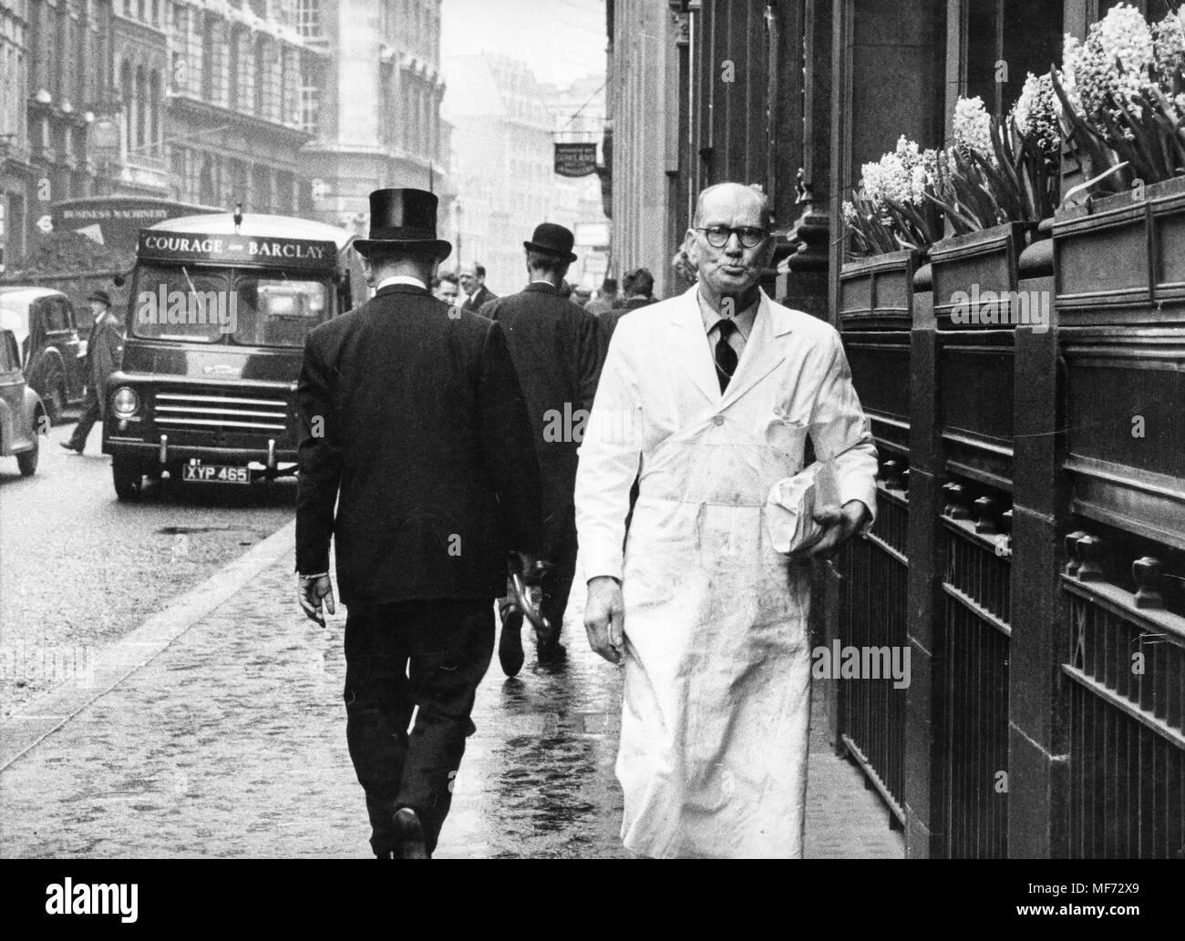 london, 70s - Stock Image