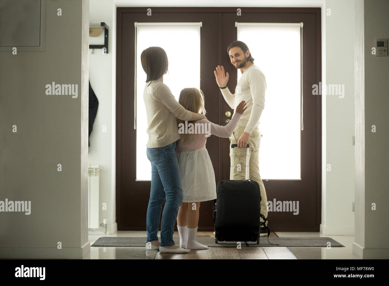 to a daughter leaving home