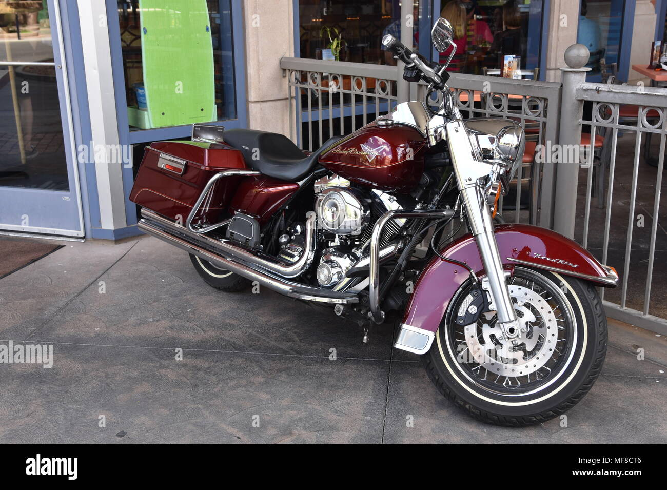 Harley Davidson Arizona >> Harley Davidson Motorcycle On Mill Avenue In Tempe Arizona