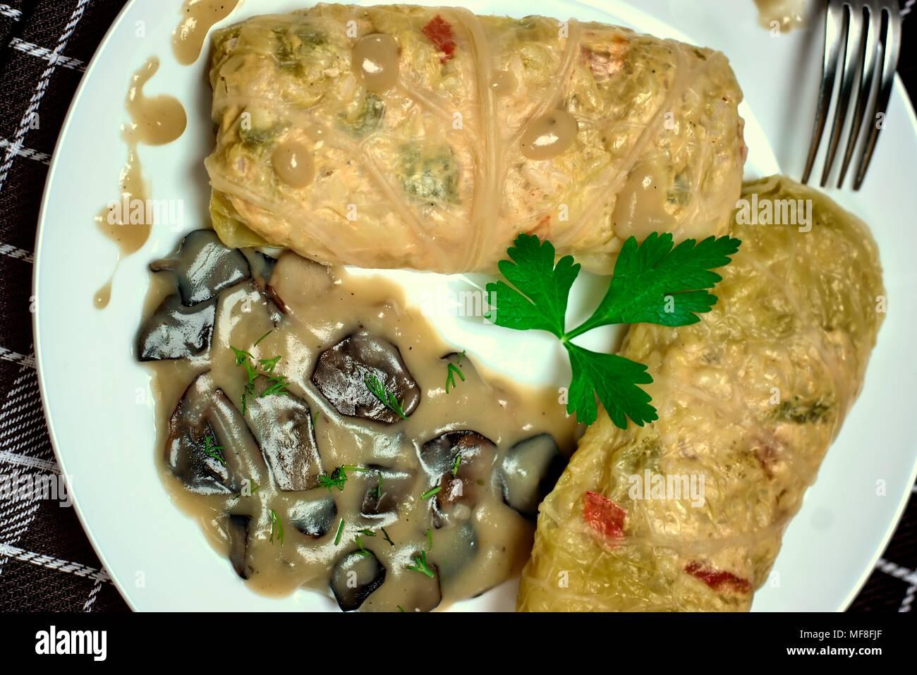 Mushroom sauce - nutritious and tasty 5