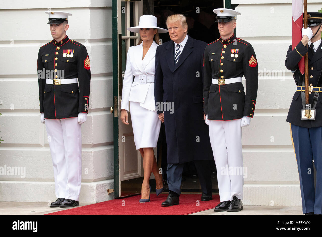 Washington, DC. 24th Apr, 2018. United States President Donald J ...