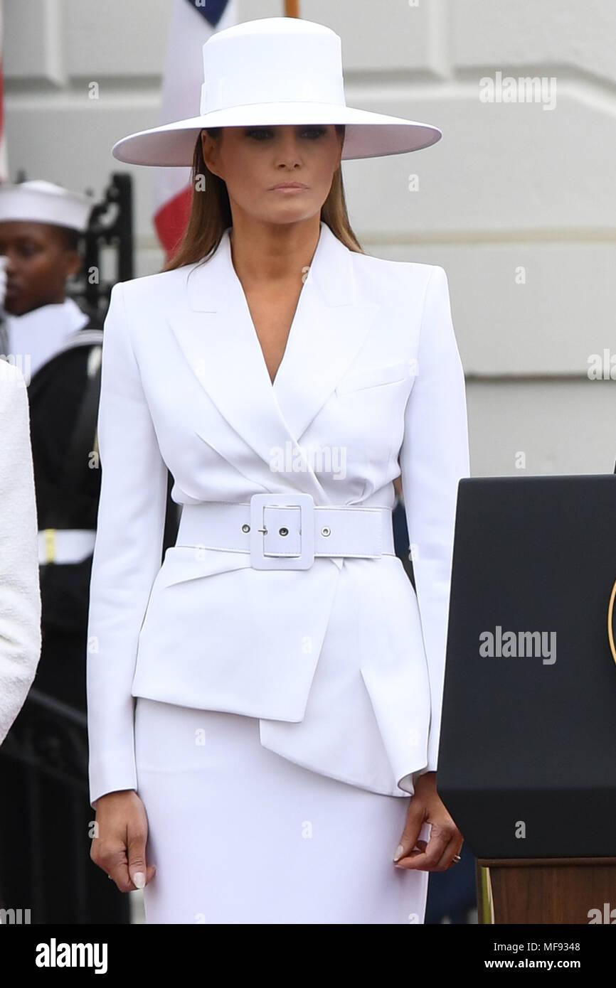 ee6ee179eb8f4e Washington, District of Columbia, USA. 24th Apr, 2018. First Lady MELANIA