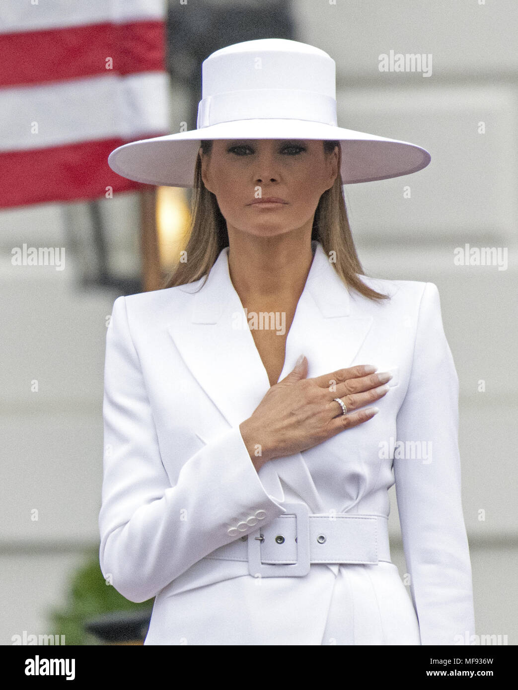 2779ee3b Washington, District of Columbia, USA. 24th Apr, 2018. First Lady MELANIA