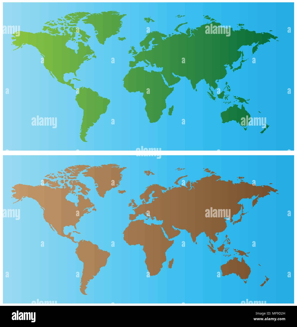 World Map Banner Stock Vector Art Illustration Vector Image