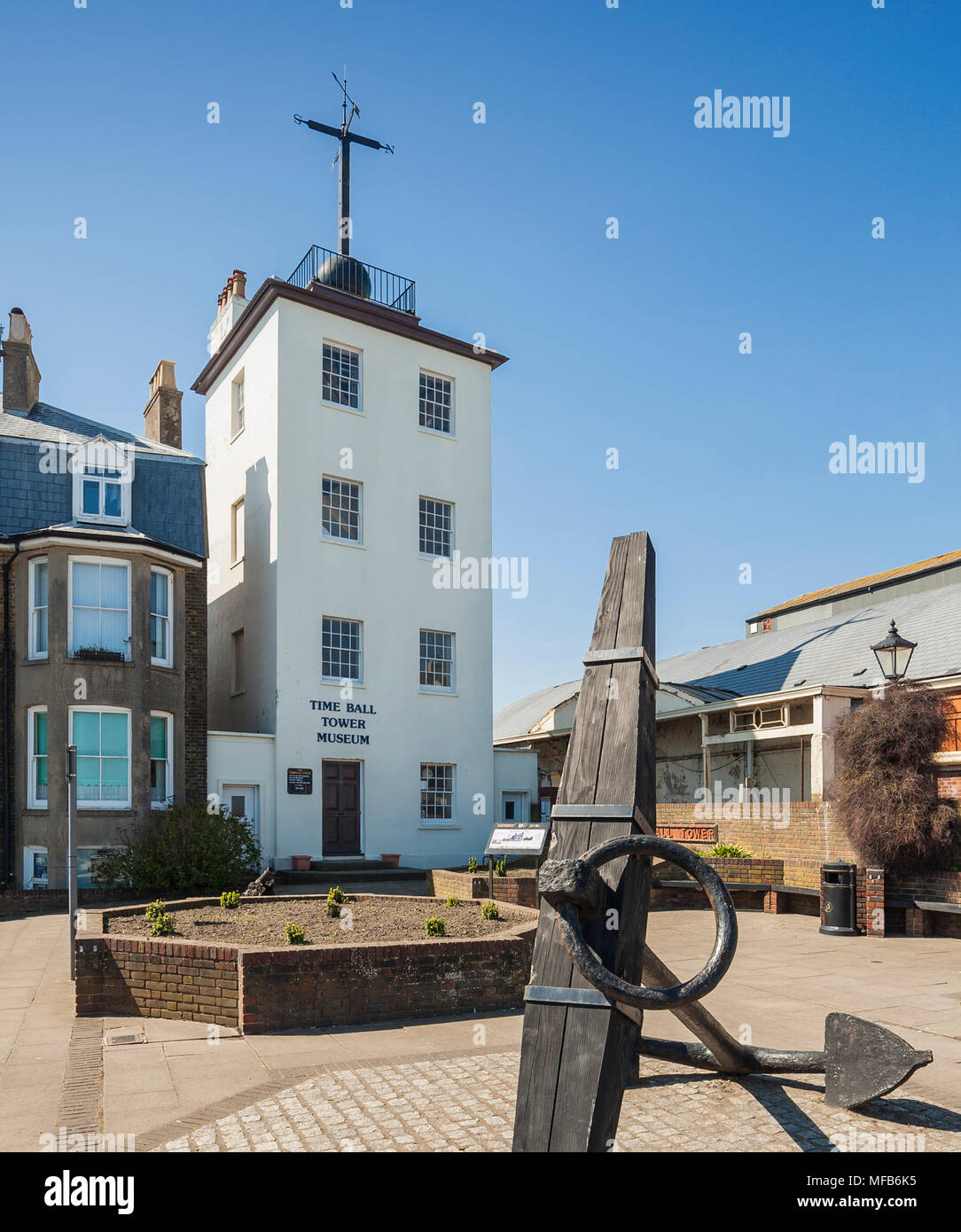 The Ball Tower Museum, Deal, Kent. - Stock Image